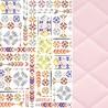Poduszka Velvet 40x60 Pink Light Boho