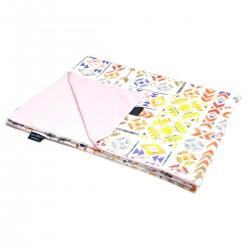Preschooler Blanket Light 100x130 Grey Light Boho - Velvet