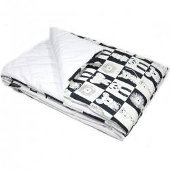 Preschooler Blanket 100x130cm White Wonderland - Velvet