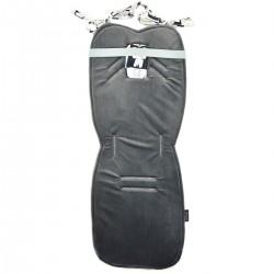 Stroller Pad Dark Grey Wonderland - Velvet