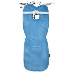 Stroller Pad Blue Wonderland - Velvet