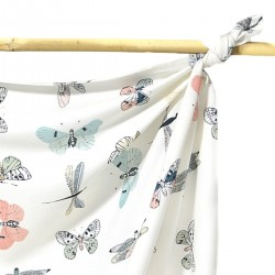 Bamboo Swaddle 75x100cm Wings