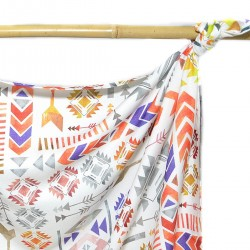 Bamboo Swaddle 100x120cm Light Boho