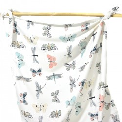 Bamboo Swaddle 100x120cm Wings