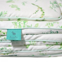 Beddings with Filling 75x100cm 100% Bamboo Mint Springflakes
