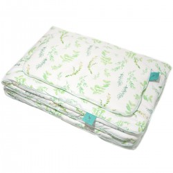 Beddings with Filling 100x130cm 100% Bamboo Mint Springflakes