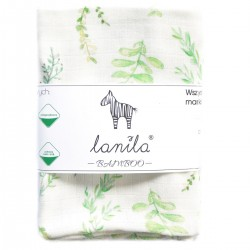 Baby Muslin Swaddle 100% Bamboo 75x75cm Springflakes
