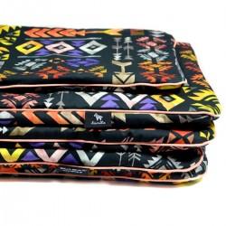 Beddings with Filling 100x135cm Orange Boho