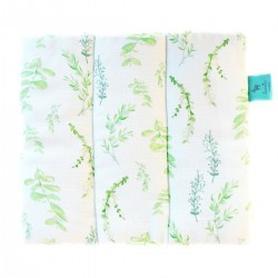 Baby Pillow 100% Bamboo – Muslin 28x24cm Springflakes