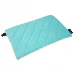 Preschooler Bed Pillow 40x60 Aqua Funfair - Velvet