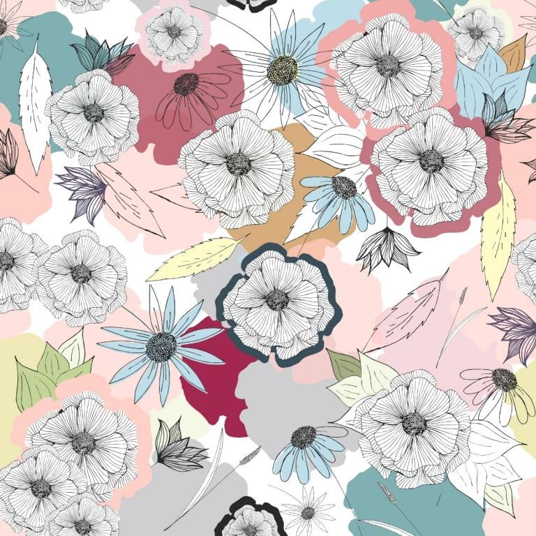 Pościel bawełniana Cherry Bloom 90 x 120cm