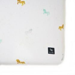 Prześcieradło Pony Dots 60x120cm