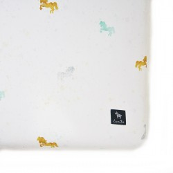 Bedsheet 70x140cm Pony Dots