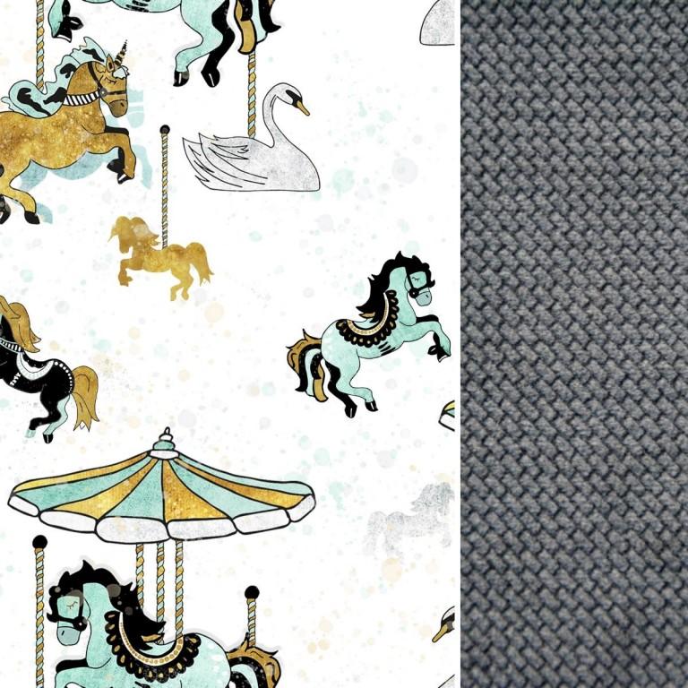 Wkładka do wózka Dark Grey Funfair- Velvet