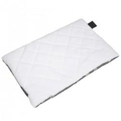 Medium Bed Pillow 25x40 White Feathers - Velvet