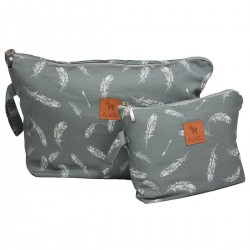 Cosmetic Bag Feathers S