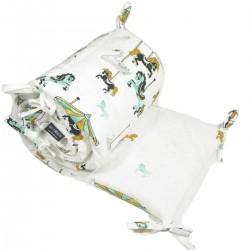 Ochraniacz do łóżeczka 60x120cm - Funfair