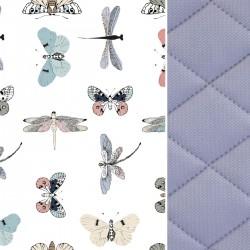 Blanket for Adults Grey Wings 140x200 - Velvet