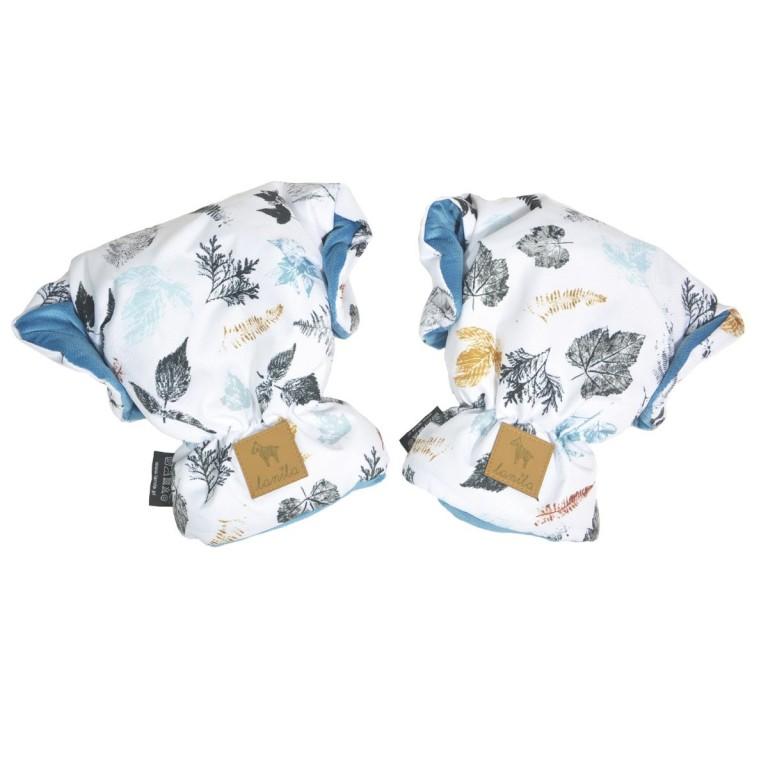 Wodoodporne Rękawice Blue Goldenprint Velvet