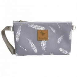Waterproof Cosmetic Bag Feathers