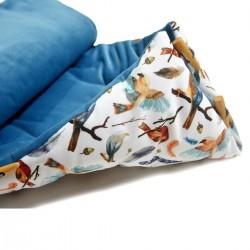 Śpiworek Blue Birdies Velvet L/XL (1-3 lat)