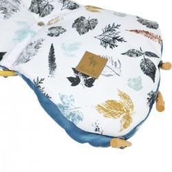 Waterproof Muff Blue Goldenprint - Velvet